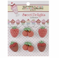 Sweet Delights Buttons Chocolate Covered Favorites