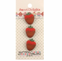 Sweet Delights Buttons Dipped In Chocolate