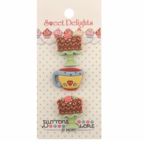 Sweet Delights Buttons Tea Time