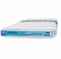 Tack-N-Fuse Non-Woven Fusible Stabilizer For Embroidery White