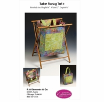 Take-Away-Tote Wood Frame