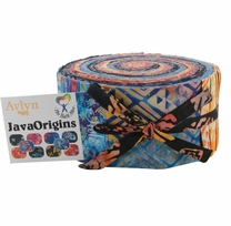 The Batik Man Java Origins Jelly Roll 2.5in x 44in 40pcs