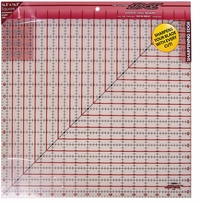 The Cutting EDGE Frosted Ruler 16-1/2inX16-1/2in