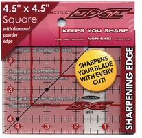 The Cutting EDGE Frosted Ruler 4-1/2inX4-1/2in