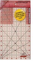 The Cutting EDGE Frosted Ruler 6-1/2inX12-1/2in