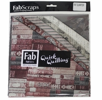 "The Gentleman's Club Fat Quarters Red 18""X21"" 6pcs"