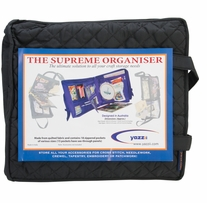 The Supreme Organizer Quilted Black Cotton