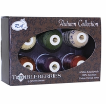 Thimbleberries Cotton Collections Mini-King Spools Autumn