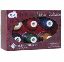 Thimbleberries Cotton Collections Mini-King Spools Winter
