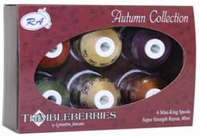 Thimbleberries Rayon Collections Mini-King Spools Autumn