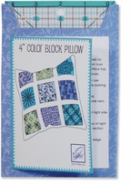 Tic Tac Toe Color Block Pillow Project Card