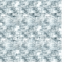 Tim Holtz Eclectic Elements Blue 45in Wide 100% Cotton D/R Basket