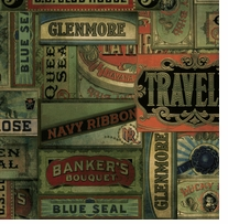 Tim Holtz Fabric Eclectic Elements Cigarbox-Multi 8 yards