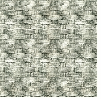Tim Holtz Eclectic Elements Gray 45in Wide 100% Cotton D/R Basket