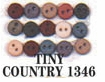 Tiny Buttons Dress It Up Embellishments Country