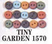 Tiny Buttons Dress It Up Embellishments Garden