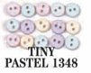 Tiny Buttons Dress It Up Embellishments Pastel