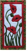 Trio Of Poppies Quilt Magic Kit