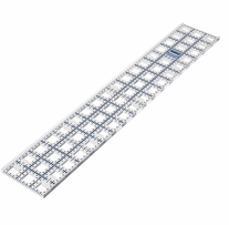 TrueCut Ruler 3inX18in
