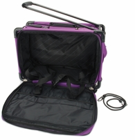 Tutto Machine On Wheels Case 20inX13inX9in Purple