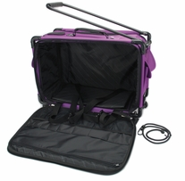 Tutto Machine On Wheels Case 21inX13-1/4inX12in Purple