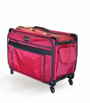 Tutto Machine On Wheels Case 21inX13-1/4inX12in Red