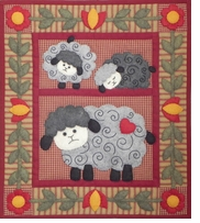 Twin Lambs Quilt Kit