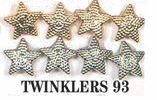 Twinklers Dress It Up Embellishments Silver and Gold Stars