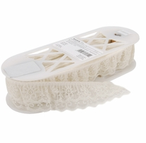Two Tier Lace Natural