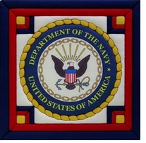 U.S. Navy Quilt Magic Kit 12in x 12in