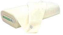 Unbleached Muslin 45in Wide 50 Yard Bolt Natural 78x78ct