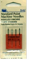 Universal Machine Needle Sizes: 9, 11 and 14