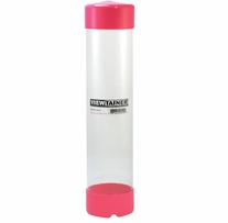 Viewtainer Storage Container 2-3/4inX12in Pink
