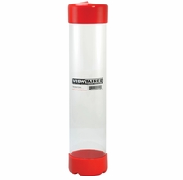 Viewtainer Storage Container 2-3/4inX12in Red
