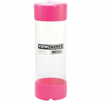 Viewtainer Storage Container 2-3/4inX8in Pink