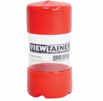 Viewtainer Storage Container 2inX4in Red