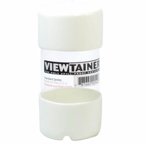 Viewtainer Storage Container 2inX4in White