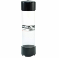 Viewtainer Storage Container 2inX7-3/4in Black