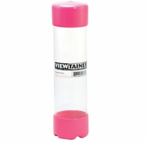 Viewtainer Storage Container 2inX7-3/4in Pink