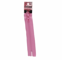 Vislon Closed Bottom Zipper 7in Holiday Pink