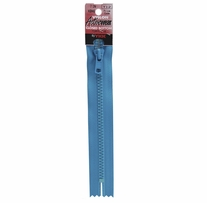 Vislon Closed Bottom Zipper 7in Pirate Blue