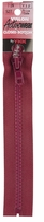 Vislon Closed Bottom Zipper Cherry 7in