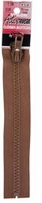 Vislon Closed Bottom Zipper Chestnut 7in