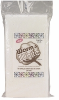 Warm and White Cotton Batting Craft Size