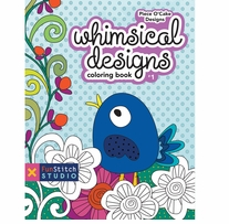 Whimsical Design Coloring Book