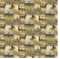 Wild Wings Walnut Grove Deer 43/44inX15yds D/R