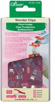 Discount Quilting Supplies - Wonder Clips 50/Pkg