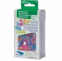 Wonder Clips Assorted Colors 50/Pkg