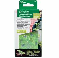 Wonder Clips Neon Green 50/Pkg