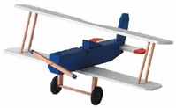 Wood Model Kit Biplane - Click to enlarge